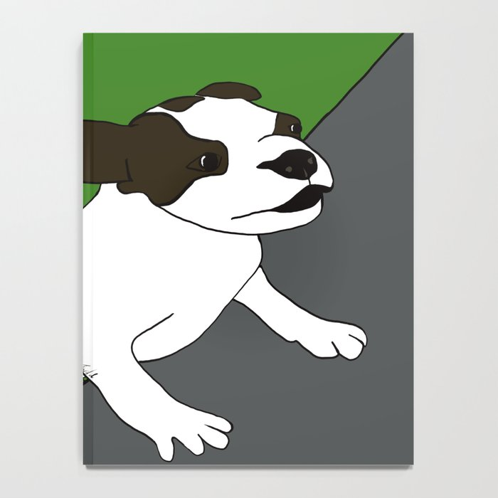 Annie The Boston Terrier Notebook