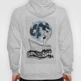 Night above the moon. Hoody
