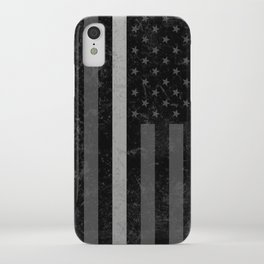 Thin Silver Line iPhone Case