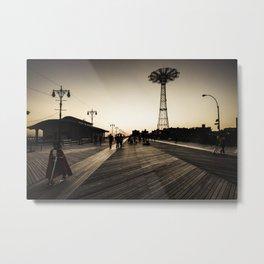 Coney Island #6 Metal Print