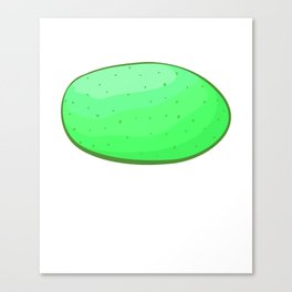 Happy St Patricks Day Irish Meme Drunk Green Potato Canvas Print