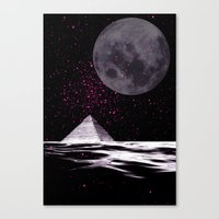 ufo Canvas Prints featuring ufo by sustici