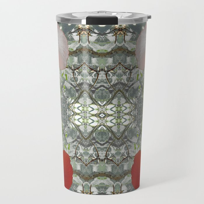 Passion for red_grey symmetry Travel Mug
