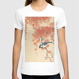 Ohara Koson - Japanese Bird Blockprint T-shirt
