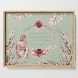Jane Austen Serving Tray