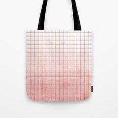 Sweet Pink Geometry Tote Bag