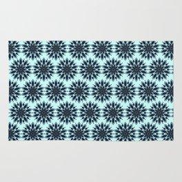 Blue knapweed flower Rug