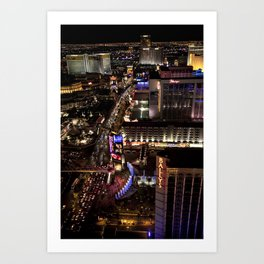 Vegas Strip Art Print