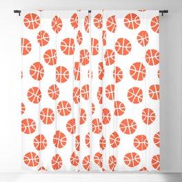Basketball Pattern Blackout Curtain