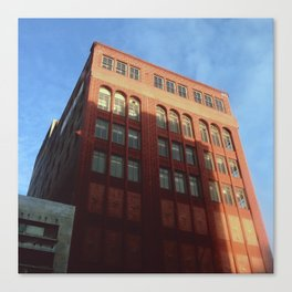 1400 Woodward - Downtown Detroit Canvas Print