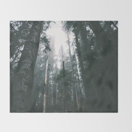 Forest XVIII Throw Blanket