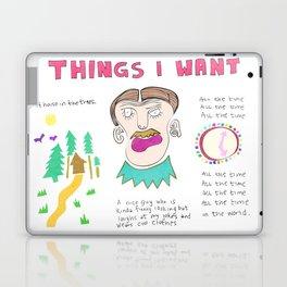 Things I Want Laptop & iPad Skin
