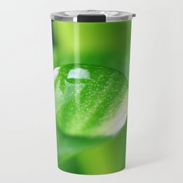 Bamboo with water drops pictures Travel Mug
