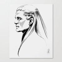 legolas Canvas Prints featuring Legolas by charlotvanh