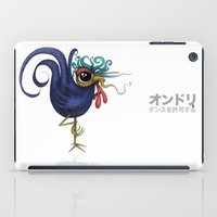 rooster iPad Cases featuring Rooster by Daniel Olguin