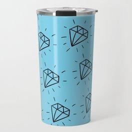 Diamonds are forever Travel Mug