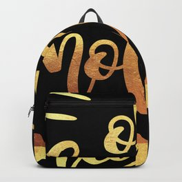 Oh Holy Night Merry Christmas Xmas Holiday Love Backpack
