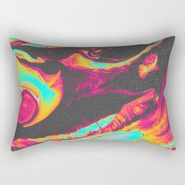 HAUNT YOU BY THE REAR VIEW MIRROR Rectangular Pillow