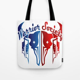 Warrior Society (Buffalo) Tote Bag