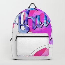 Thunder (pink and blue) Backpack