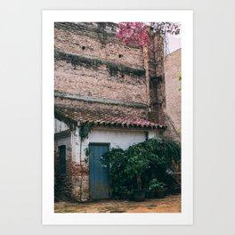 Autumn in Spain Art Print
