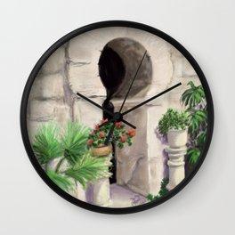 Arab Baths Palma de Mallorca DP151029b-14 Wall Clock
