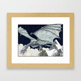 Wyvern Framed Art Print
