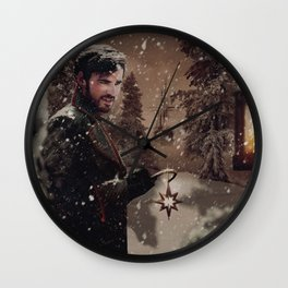 Christmas / Captain Hook Wall Clock