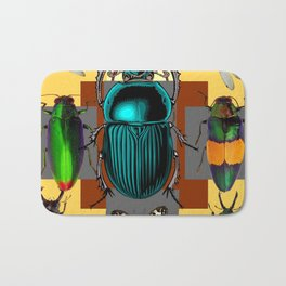 BUGGY INSECT LOVERS ART Bath Mat