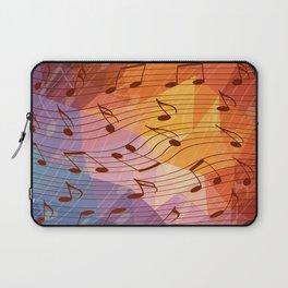 Music notes III Laptop Sleeve