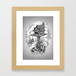 Cleverness Framed Art Print
