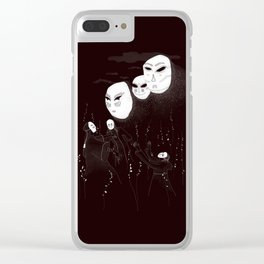 A summon in the night Clear iPhone Case