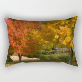 Welcome Fall Rectangular Pillow
