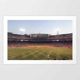 Red Sox Art Print