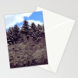 Christmas forrest Stationery Cards