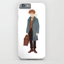 Newt Scamander iPhone Case