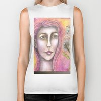 olivia joy Biker Tanks featuring Olivia by Art by Sandy & Mariah Gonyea