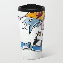 Gunter, Do You Even Love Me? Metal Travel Mug