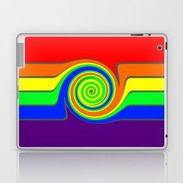 Rainbow With A Headache Laptop & iPad Skin