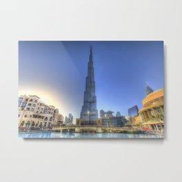Burj Khalifa Dubai Metal Print
