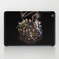 aragorn iPad Cases featuring The Happy Fellowship by Ginger Opal