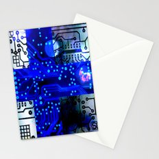 circuit board Finland Stationery Cards