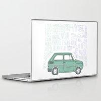indie Laptop & iPad Skins featuring Indie by Tuylek