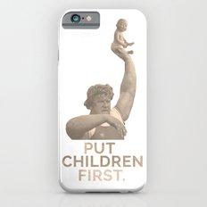 Put Children First Slim Case iPhone 6s