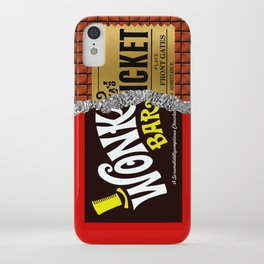 Willy Wonka Bar iPhone Case