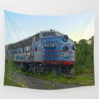 minnesota Wall Tapestries featuring Minnesota Zephyr by John Andrews Design