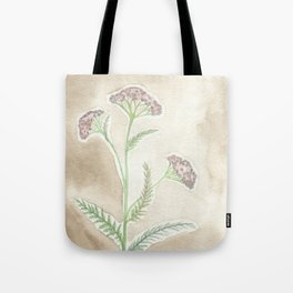 Pink Yarrow Tote Bag