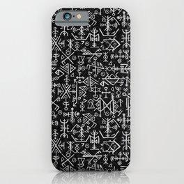Viking Pattern | Warrior Valknut Norse Mythology iPhone Case