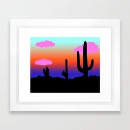 Arizona Sunset Framed Art Print