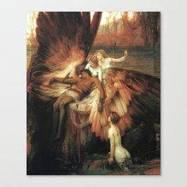 Mourning for Icarus - Draper Herbert James Canvas Print
